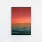 Red Sun Canvas