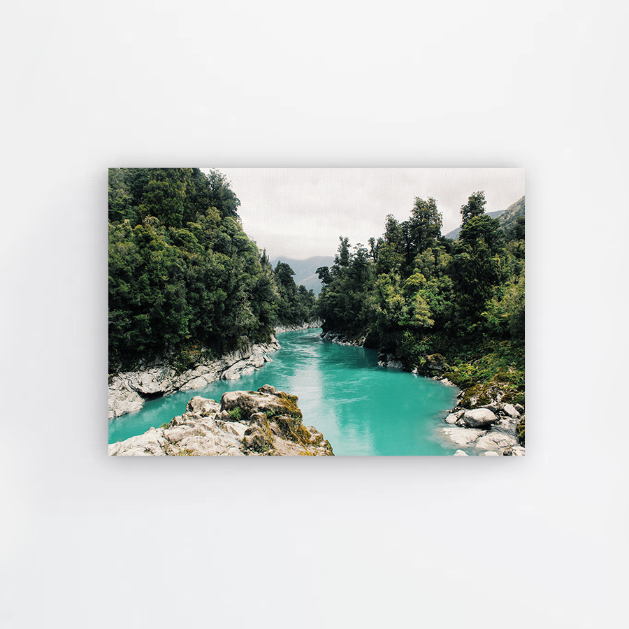 Blue Stream Canvas