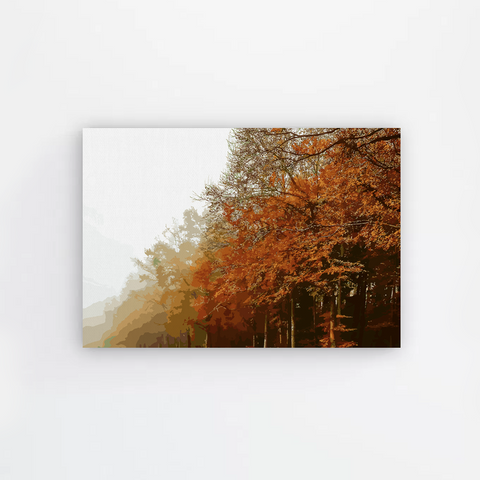 Fall Forest Canvas