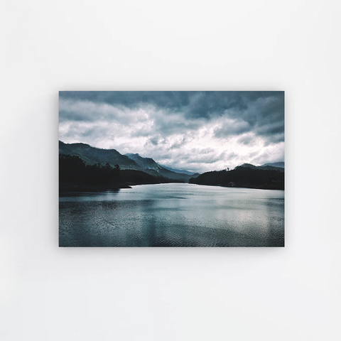 Blue Lake Canvas