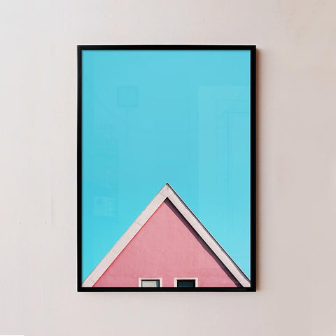 Triangle House Frame