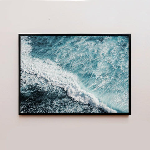 Ocean Waves Frame