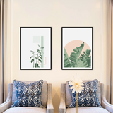 Watercolor Palm Springs Frame