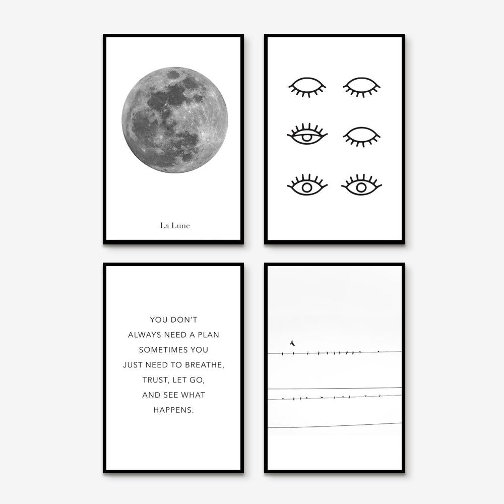 The Seer - Set of 4 art prints