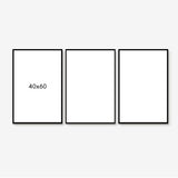 Minimal Lines - Set of 3 art prints