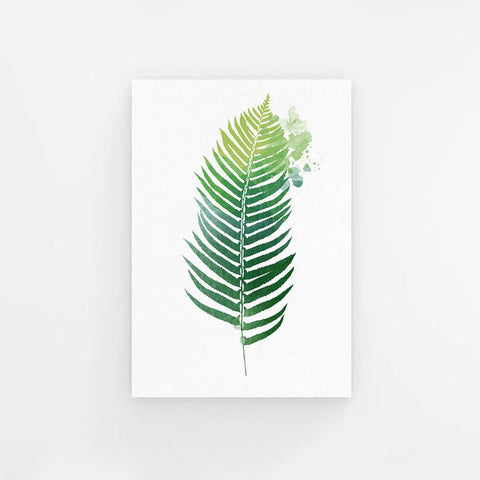Palm Illustrator Canvas