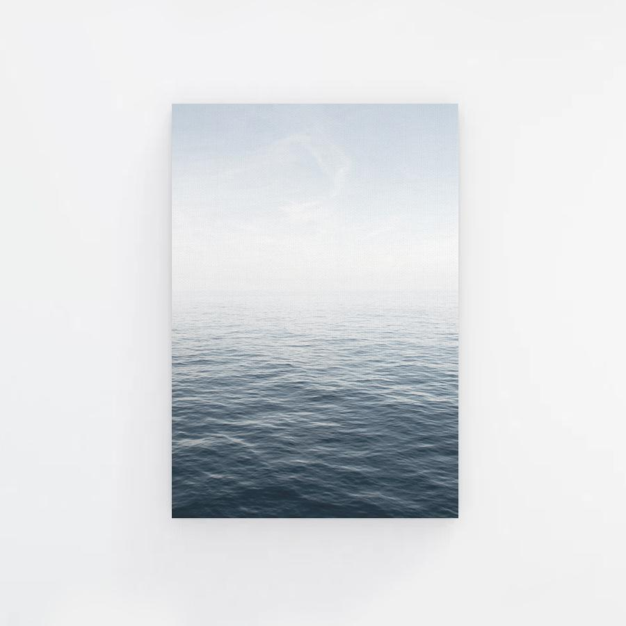Blue Sea Canvas