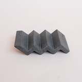 Charcoal Concrete Soap Dish