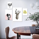 Set of multiple canvas prints - Reflection