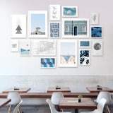 Feeling Blue - Set of multiple art prints