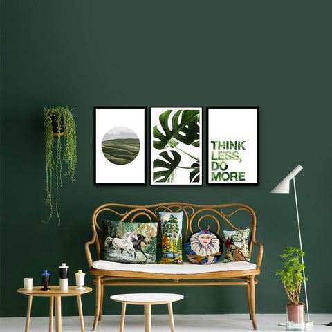 Think Green - Set of 3 Art prints