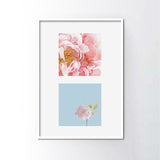Sakura Bloom 3 Frame Art Print