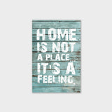 Home is Not a Place Canvas