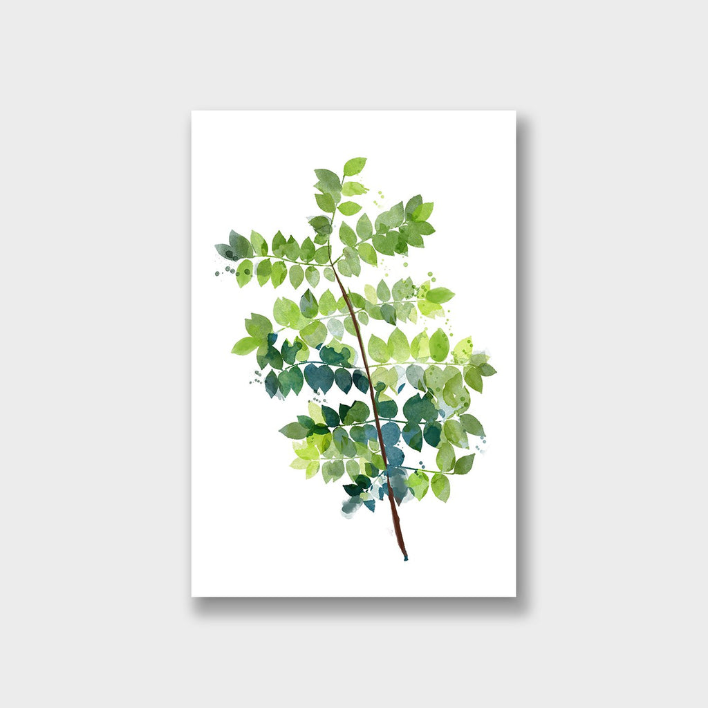 Small Leaves Canvas