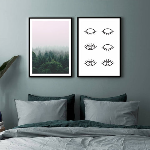 Eyes of The Forest - Set of multiple art prints