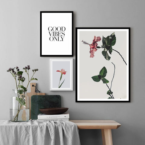 Flower Vibes - Set of multiple art prints