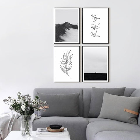 Nature Noir - Set of multiple art prints