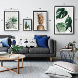 Set of multiple art prints - Tropical Forest
