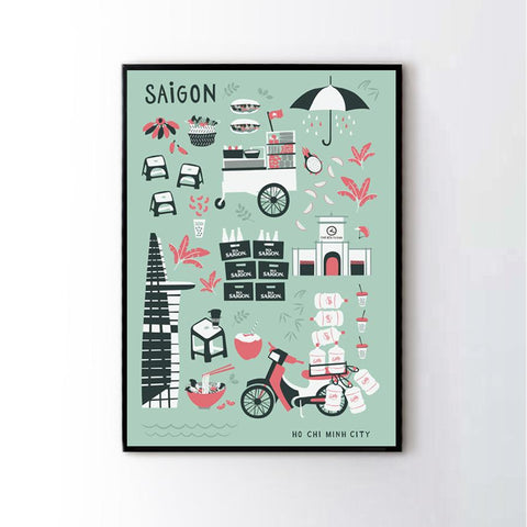 THE SAIGON Frame in Mint