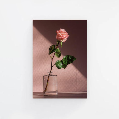 Vase of Rose Canvas Print