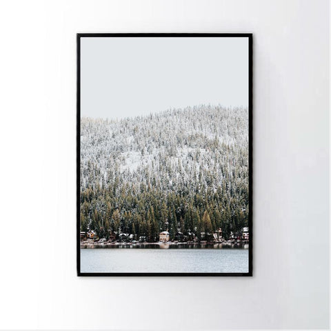 Snow Forest Frame