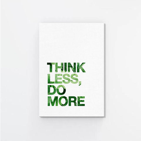 Green Thought Canvas Print