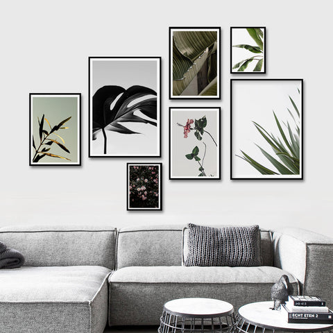 Afternoon garden - Set of multiple art prints