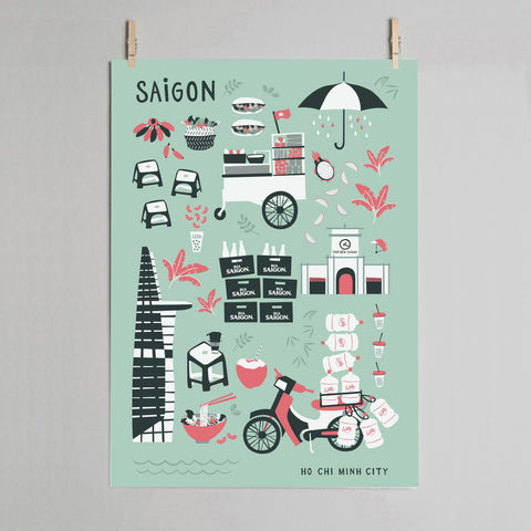 THE SAIGON Poster in Mint