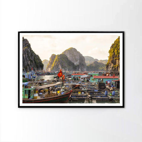 Fishing Community in Ha Long Bay