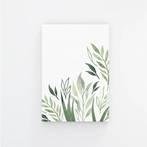 Summer Leaves Canvas Print