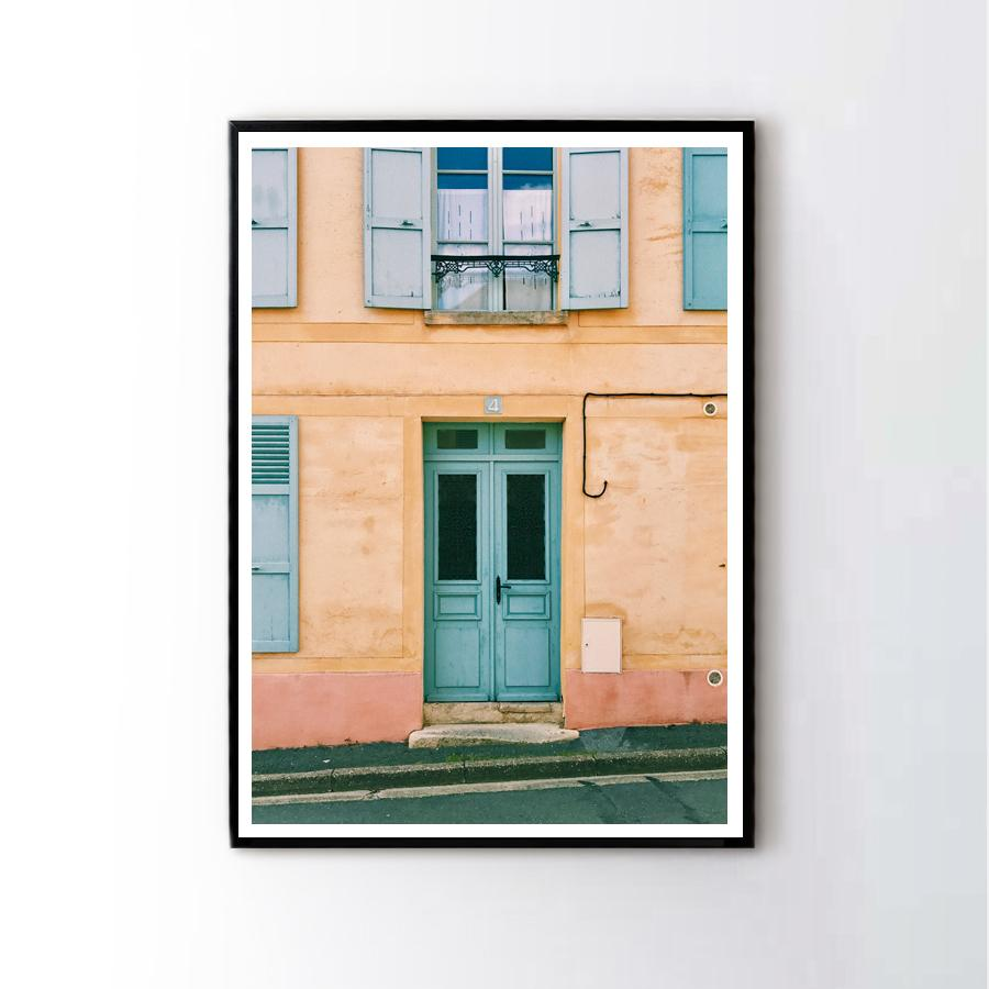Old Building in Paris Frame