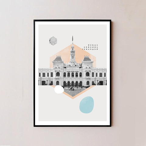Ho Chi Minh City Hall Frame