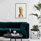 Golden Pineapple Frame