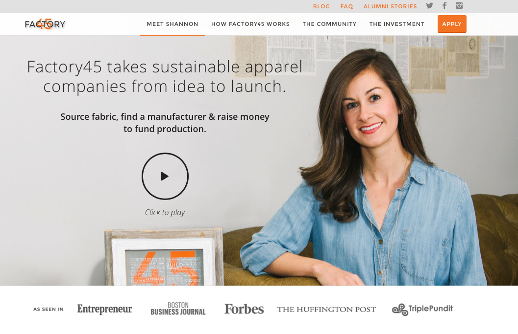 Factory45 Week 1: Yep, I'm Really Launching My Own Sustainable Fashion Brand!