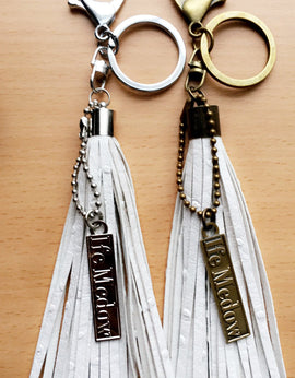 Elements Tassel Keychain