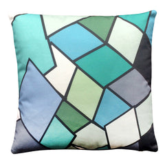 STAIN GLASS CUSHION (cover only) 45x45cm