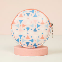 ROUND PURSE (MEDIUM) - SANTORINI