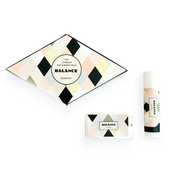 THE LIP BALM DAY & NIGHT DUO - BALANCE