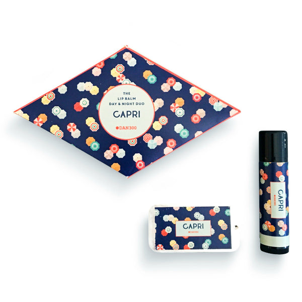 THE LIP BALM DAY & NIGHT DUO - CAPRI