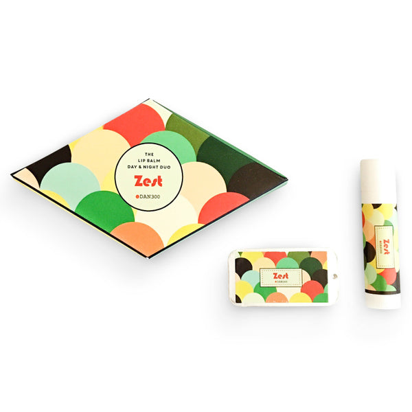 THE LIP BALM DAY & NIGHT DUO - ZEST