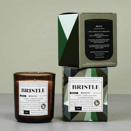 LUXE CANDLE - BRISTLE