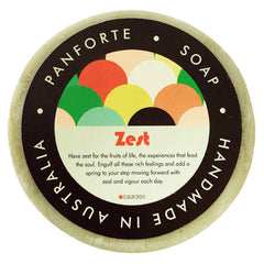 PANFORTE SOAP - ZEST