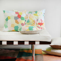 PASTEL GLASS CUSHION (cover only) 60x40cm