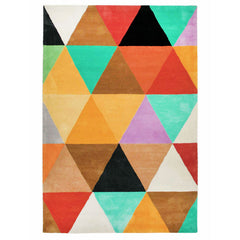 KALEIDOSCOPE HAND TUFTED RUG (All-ware) 160 x 230cm
