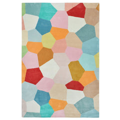 PASTEL GLASS HAND TUFTED RUG (All-ware) RECTANGLE 160 x 230cm