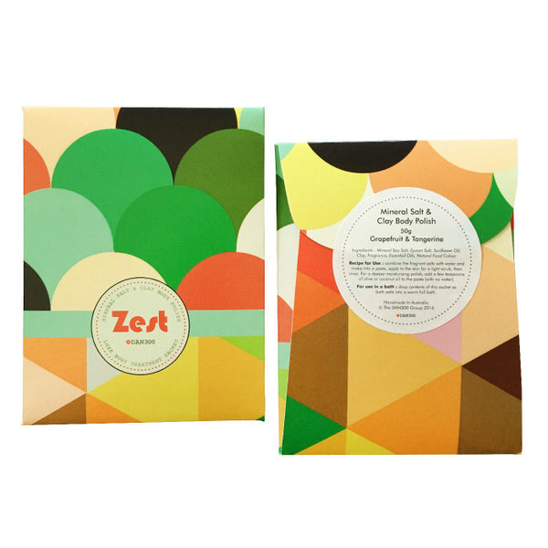 LUXE BODY TREATMENT SACHET - Zest