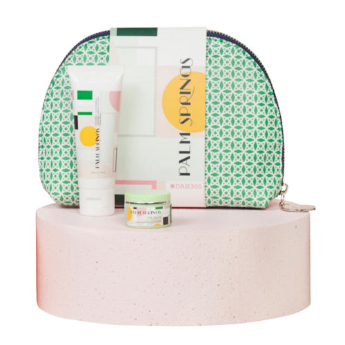 THE BEAUTY BAG 3 PIECE GIFT SET- PALM SPRINGS