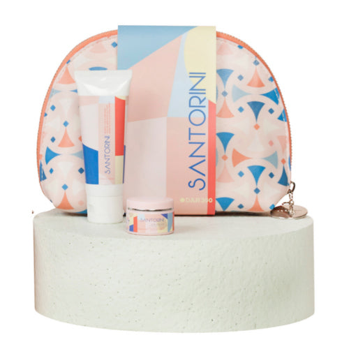 THE BEAUTY BAG 3 PIECE GIFT SET- SANTORINI