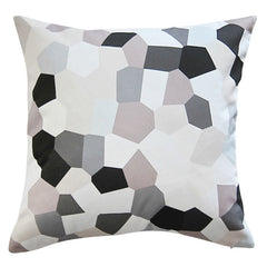 GLASS MONO CUSHION (cover only) 45x45cm