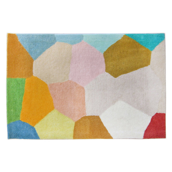 PASTEL GLASS HAND TUFTED MAT (All-ware) 90 x 60cm (Last One)